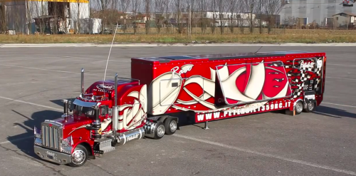 Truck Hides Something That Blows The Crowd Away!