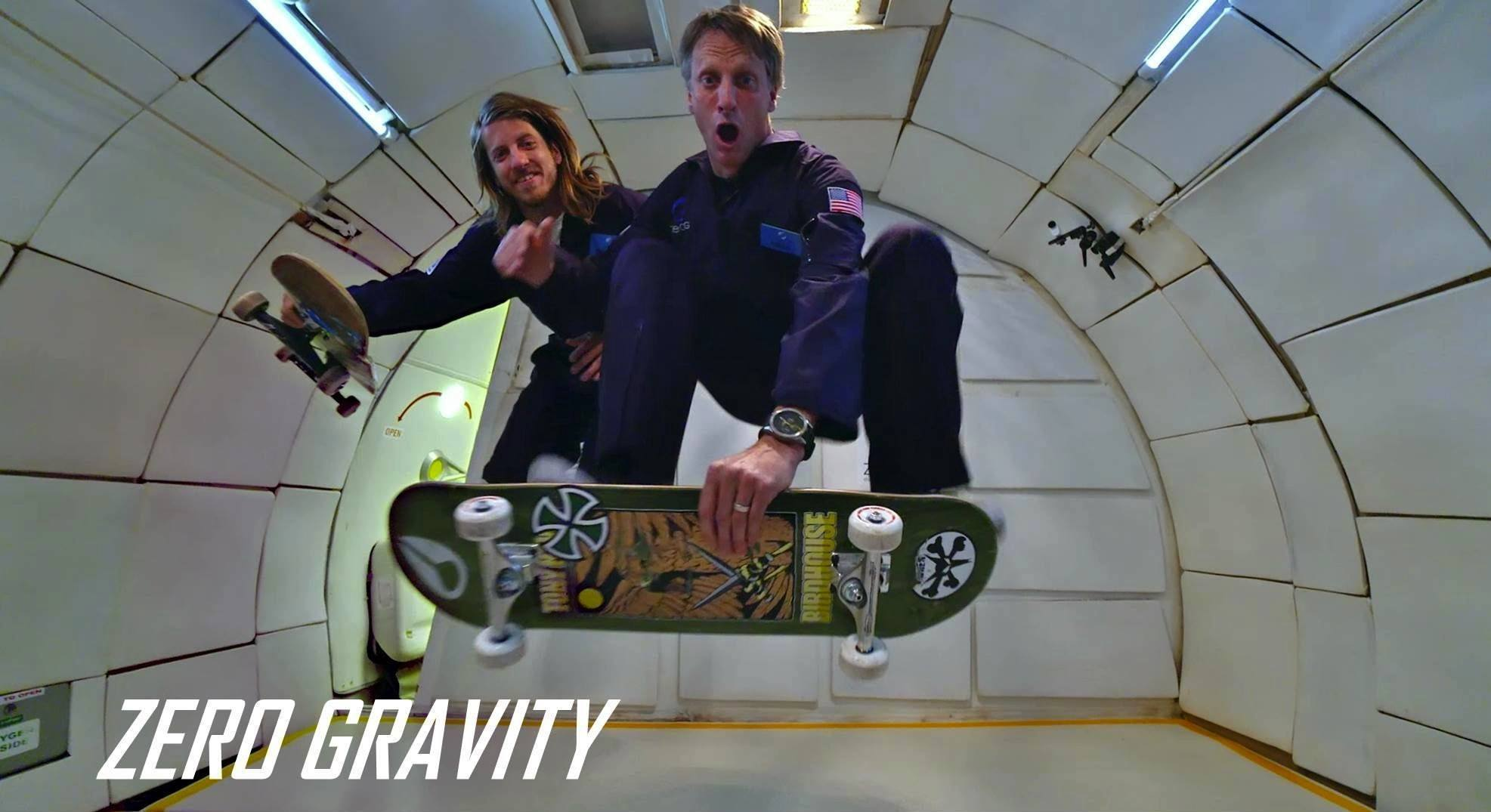 This Is What Happens When You Take Tony Hawk Into Zero Gravity
