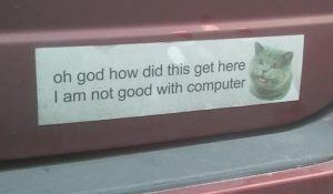 18 Bumper Stickers That Will Have You In Tears